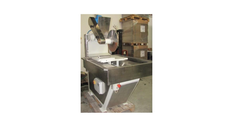 Máquina de corte de vidro com carro deslocável