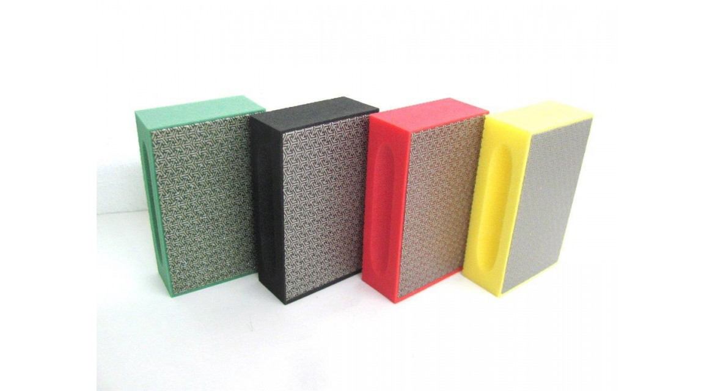 Handpads for grinding and polishing stone Ref. Telum