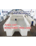 Fused Cast refractories for furnaces