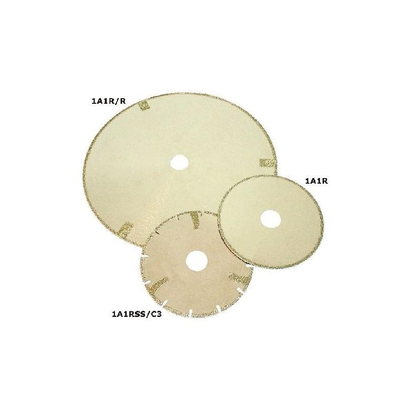 Disco de corte de diamante electrodepositado segmentado para mármore 1A1RSS/C3